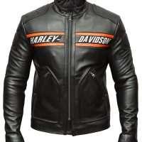 Harley Davidson Biker Genuine Leather Jacket