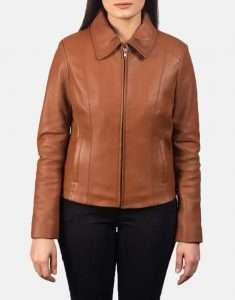 Colette-Brown-Leather-Jacket-For